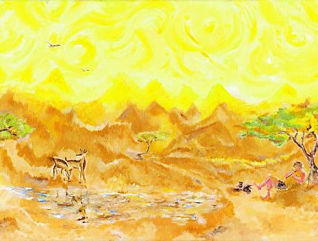 איילות במדבר - הדר גולדין, פתיחה 14.03.17