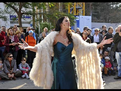 אופרה בחורף - ברחבי העיר תל אביב-יפו